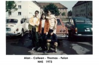 Alan Maloney, Colleen Campbell, Thomas Otsa, Phelon Deutsch